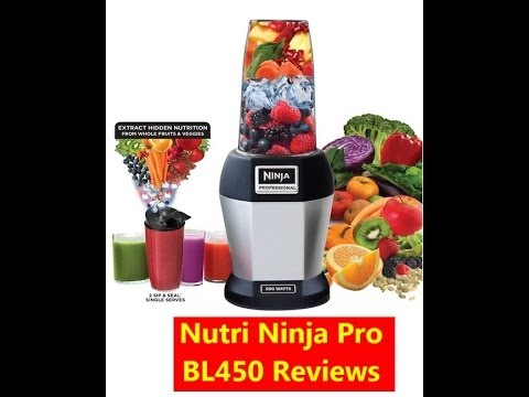 Nutri Ninja Pro BL450 Reviews