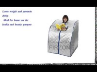 Firzone portable infrared sauna  Large)