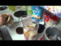 The PB&J Classic (Nutribullet Smoothies for when you CAN'T eat what you want!!!!)
