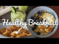 Three Healthy Breakfast Ideas – Crumbs