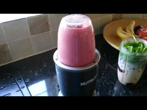 Nutri Bullet breakfast