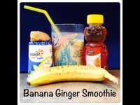 Banana Ginger Smoothie – Nutribullet or Blender