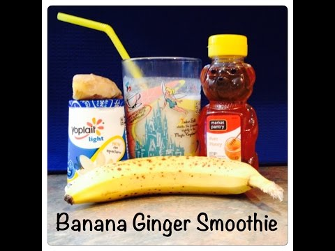 Banana Ginger Smoothie - Nutribullet or Blender