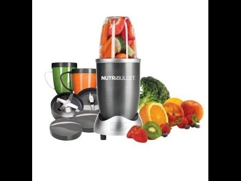 Nutri Bullet - Blender Mixer System review