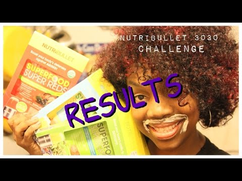 Nutribullet 30/30 Challenge Results - What Went Right, What Went Wrong!  #Nutribullet3030Challenge