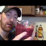 The Fruitarian Barbarian (smoothies without liquid in the mighty Nutribullet RX)