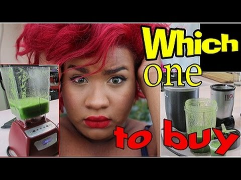 Blendtec vs Nutribullet, Magic Bullet, Ninja and Nutri Ninja