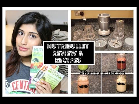 Nutribullet : Review & Recipes #FeelingFruity