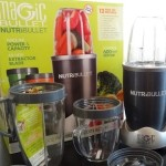 NutriBullet Recipe Creation with Peach Mango Kiwi Flaxseed Protein Smoothie