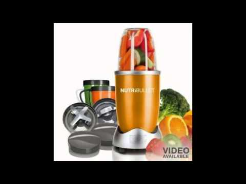 Nutri Bullet NBR-12 12-Piece Hi-Speed Blender/Mixer System, Black Reviews