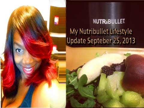 Gadget Trish Nutribullet Lifestyle Update - September 25, 2013