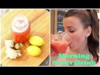 Watermelon Ginger Detox Drink: Morning Cleanse