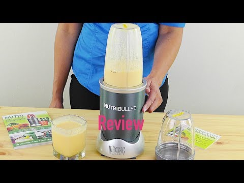 Nutribullet Review NBR-12 Hi-Speed Blender/Mixer System and Organic Green Smoothie Recipe