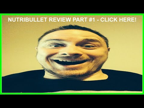 NutriBullet Review Part 1, Opening the Box?