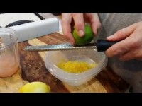 In the Kitchen with Dave ~ How to Make a Morning Citrus Tonic with a Nutri Bullet