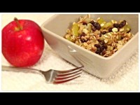 What I Eat In A Day: Vegan Holiday Apple Crisp