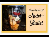 My review of the NUTRI BULLET ~ 10/10