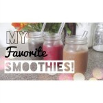 How To Make My 3 Favorite Smoothies! [Organic & Vegan] | AshweeBunn