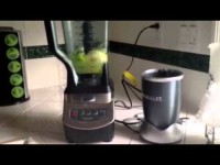 Nutribullet/Ninja blending whole apple