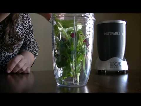 NutriBullet NutriBlast Six Recipe Making & Taste Test | Quick Start Card | Day 25