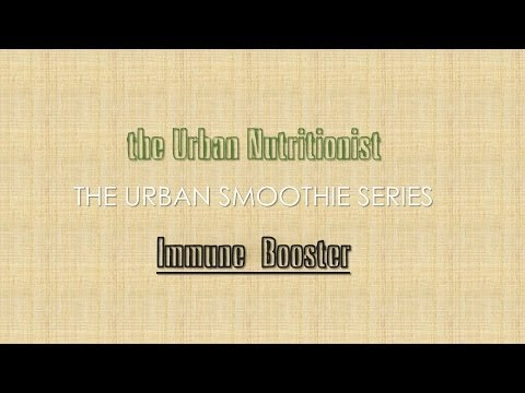 Immune Booster - The Urban Nutritionist Smoothies