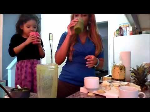 Detox your body with a green juice(Weight loss,Acne,Cancer etc)