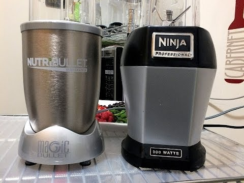 Nutri ninja pro vs the nutribullet 900 comparison review for Magic bullet motor size