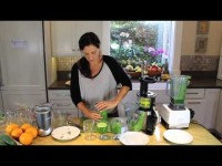 Making green drinks (juices/smoothies) with any appliance.